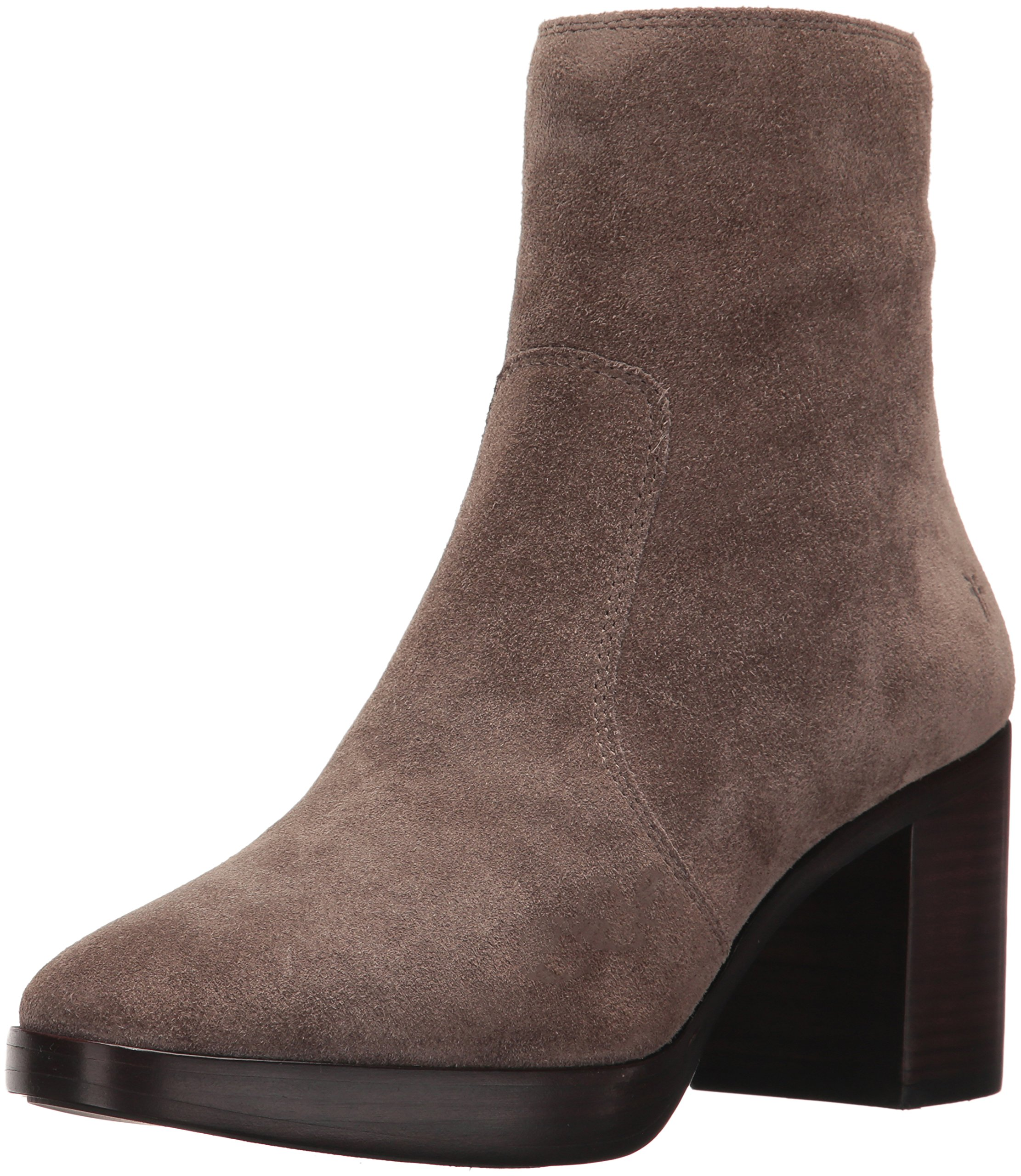 FRYE Women's Joan Campus Short Boot, Elephant Soft Oiled Suede, 8 M US