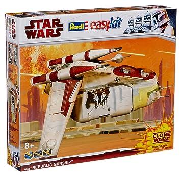 Revell 06667 Easykit Star Wars - Maqueta de cañonera de la ...