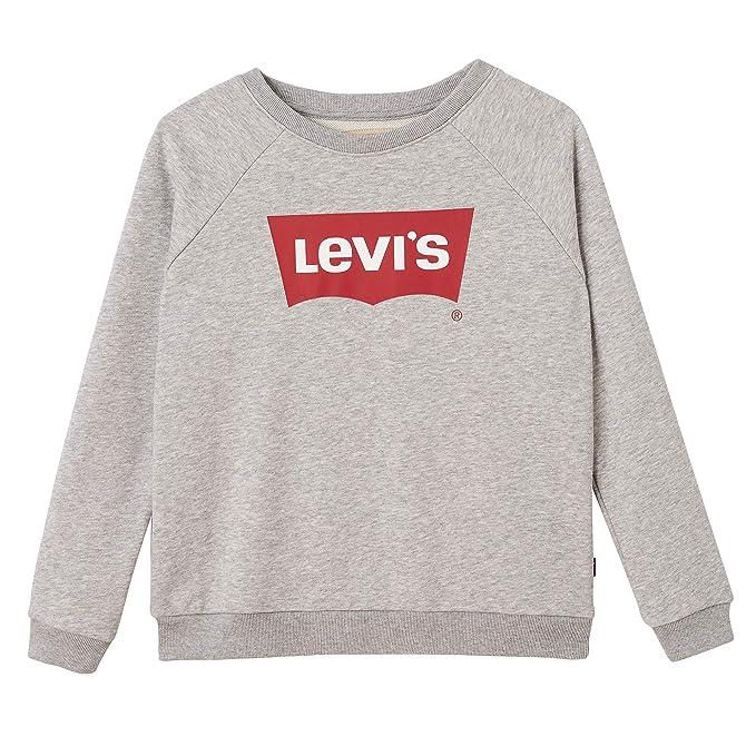 Levis kids Nn15567 20 Sweat Shirt - Sudadera Niñas: Amazon.es: Ropa y accesorios