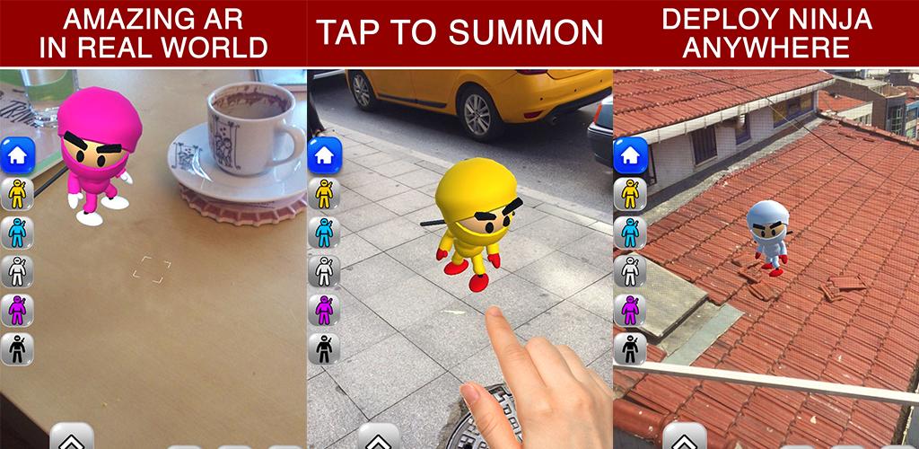 Amazon.com: AR Ninja Kid vs Zombies Game of Augmented ...