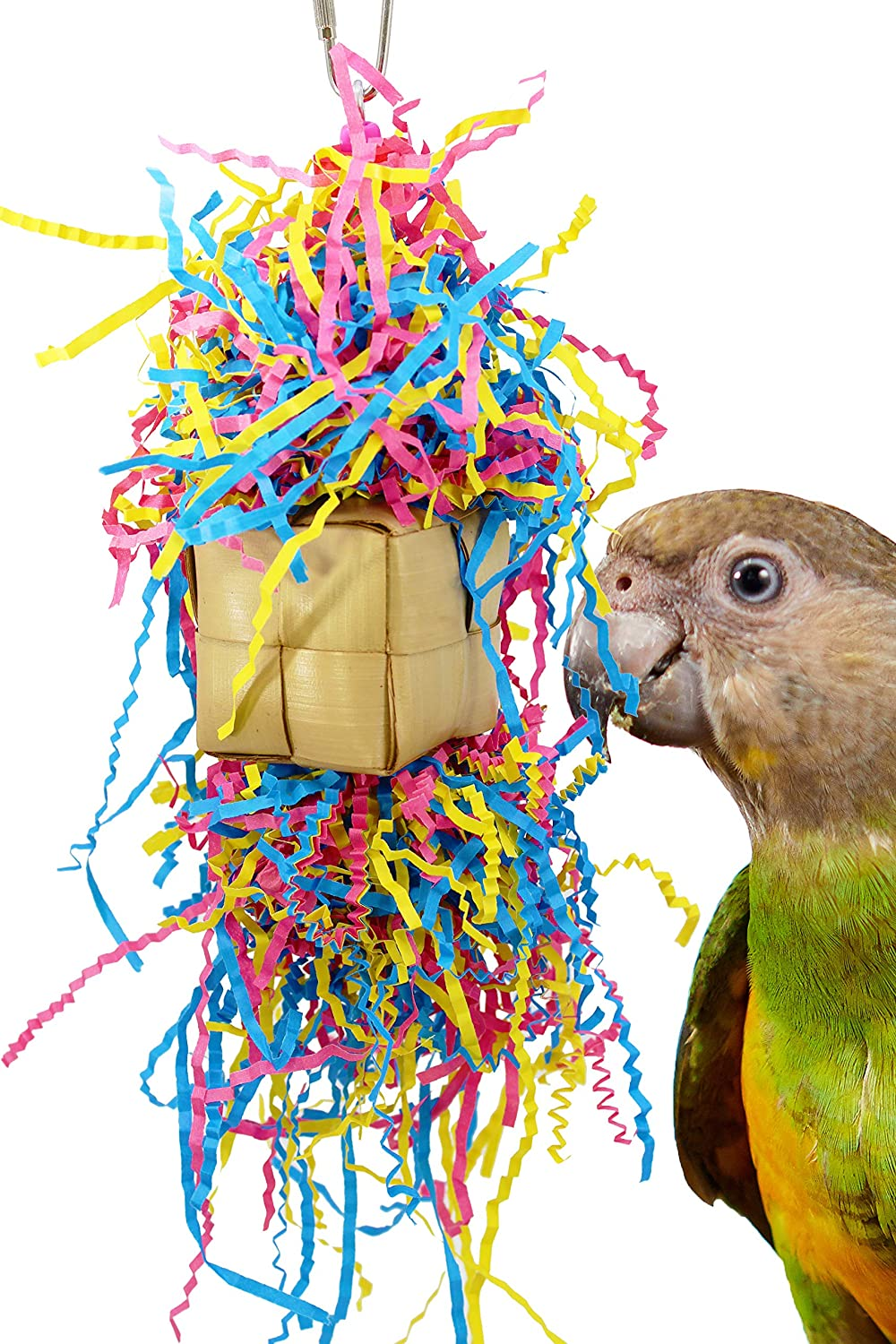 Bonka Bird Toys Space Fingers Octi Planet Mardi Foraging Toy Chew Shredder  Conure Parakeet Cockatiel Budgies Cage Cages