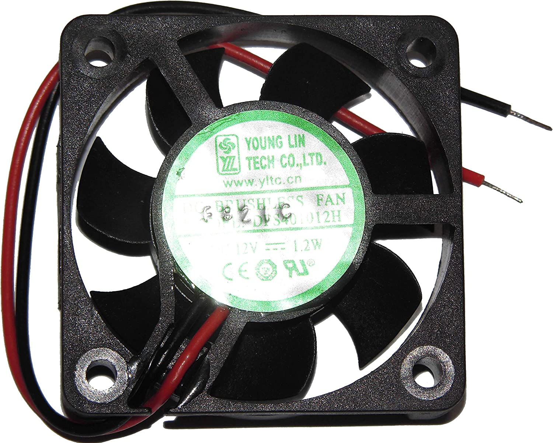 Zyvpee 40x40x10mm DFS401012H 4cm 12V 1.2W 2Wire Cooling Fan DFB401012L