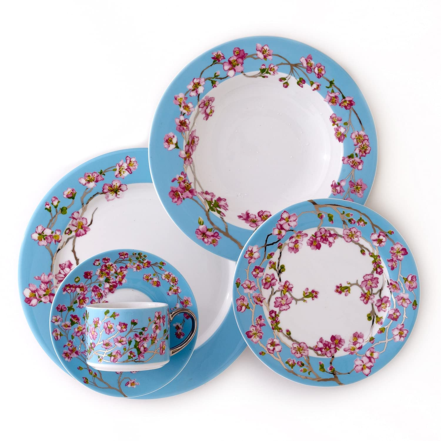 5 Pc Place Setting Dinnerware Set