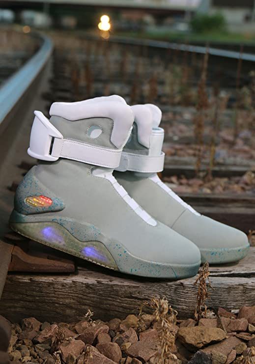 00cd66e1b2790 Fun Costumes Back to The Future 2 Light up Shoes Size 13