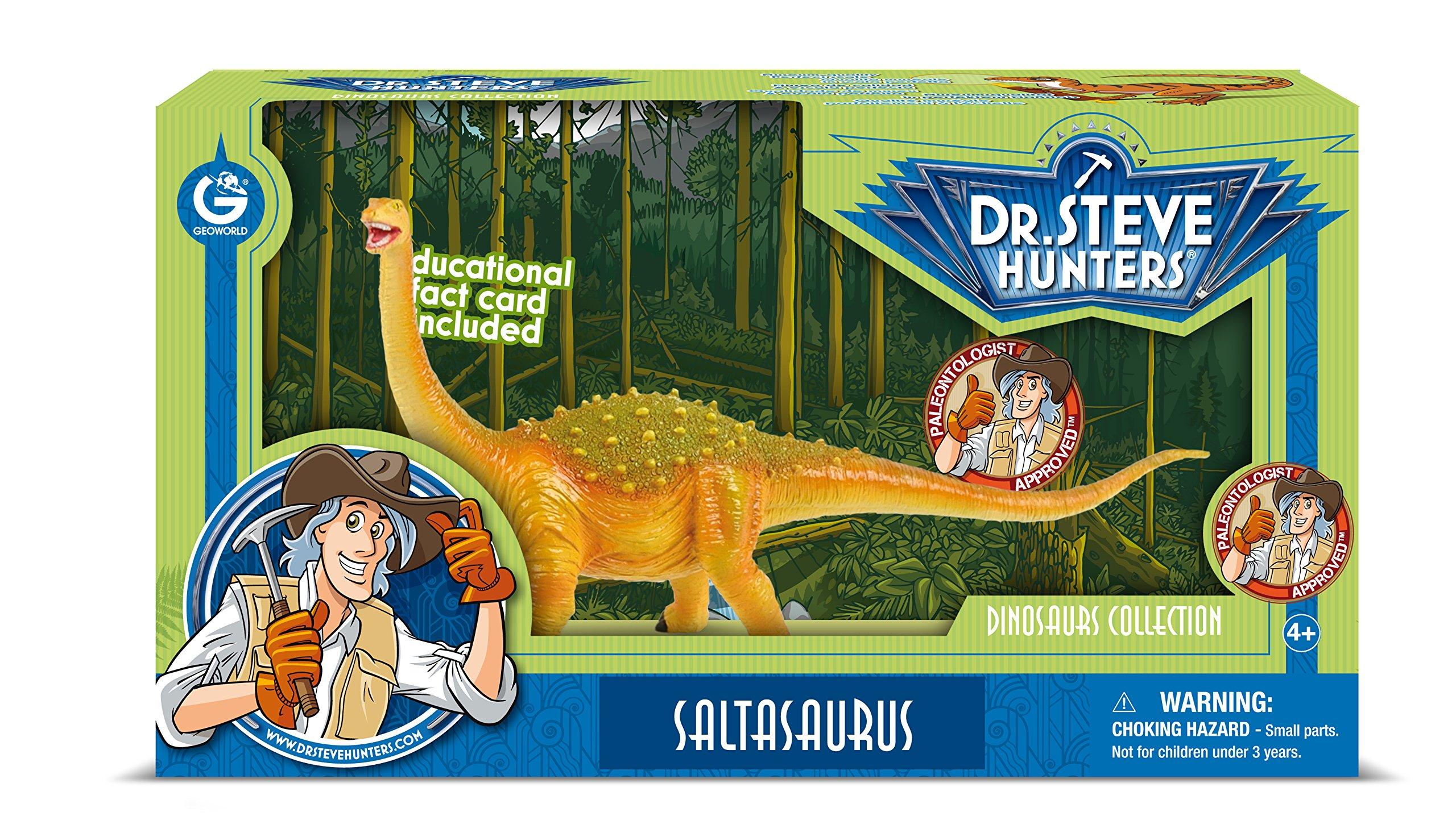 Dr. Steve Hunters cl1609K-Collection of Dinosaurs: Model Saltasaurus