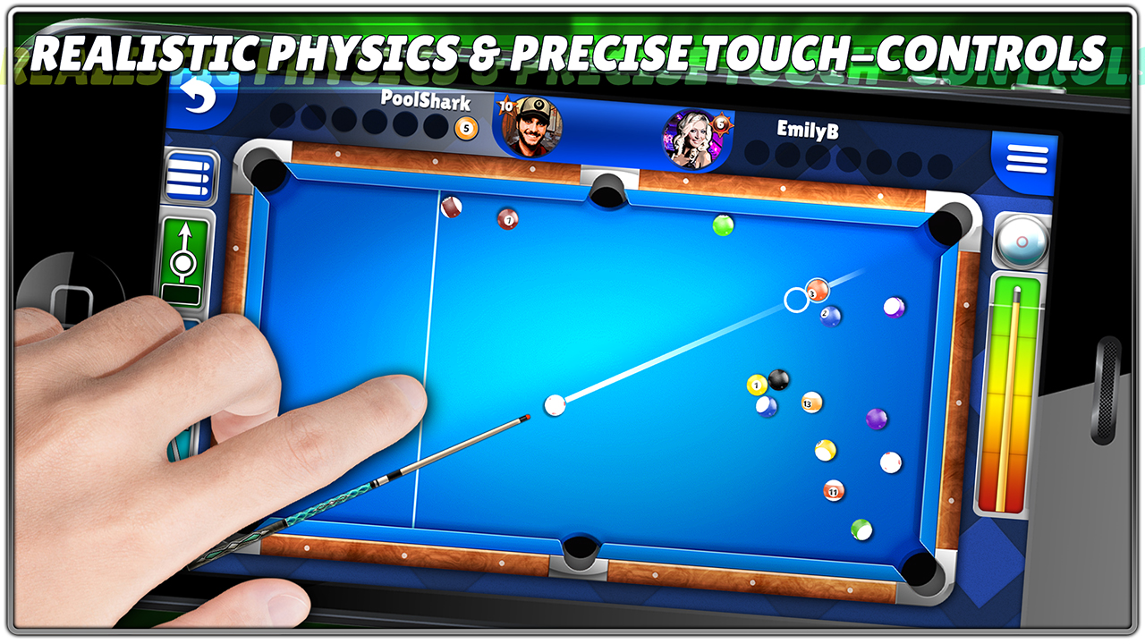 how to play 8 ball pool app
