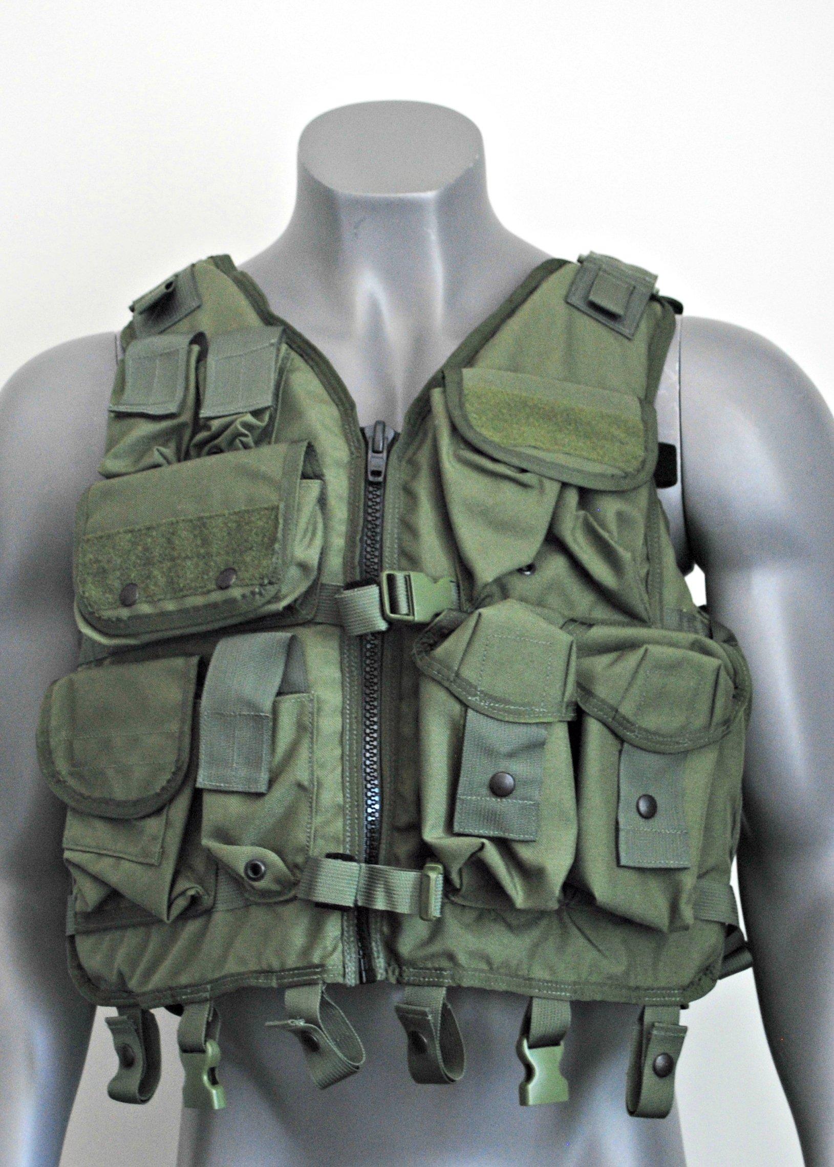 Tactical Vest w/ Flotation OLIVE DRAPE LBT-1620A-ROD