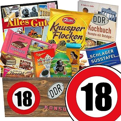 Geschenk 18 Geburtstag Schokolade Box Ddr Geschenke 18