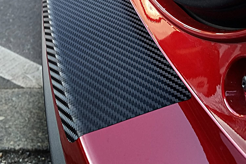 Ladekantenschutz Lackschutzshop Lackschutzfolie Schutzfolie in 3D Carbon Black passend f/ür Fahrzeug Modell Siehe Beschreibung 160/µm 3D Carbon schwarz