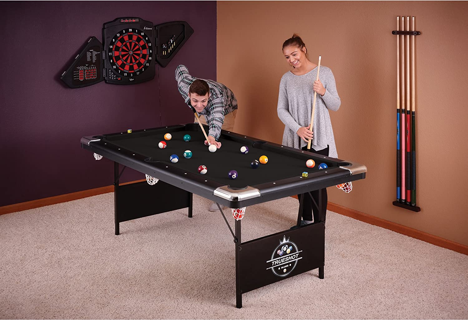 Amazoncom Fat Cat Trueshot Billiard Table Combination Game - Pool table repair san diego