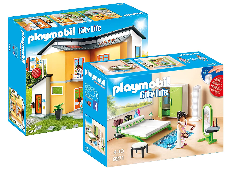 Salle De Bain Neo Frame Leroy Merlin ~ Playmobil City Life Set Maison Moderne 9266 Chambre Avec
