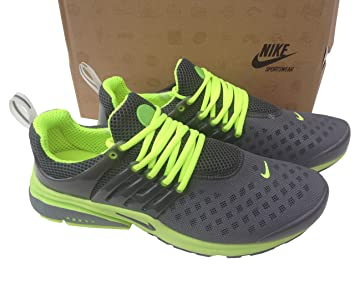 official photos 16eb1 df1ec Nike Air Presto carbono Gris fluorescentes Mens tamaño 8,5 Zapatillas Shox  zapatos entrenadores Amazon.es Deportes y aire libre