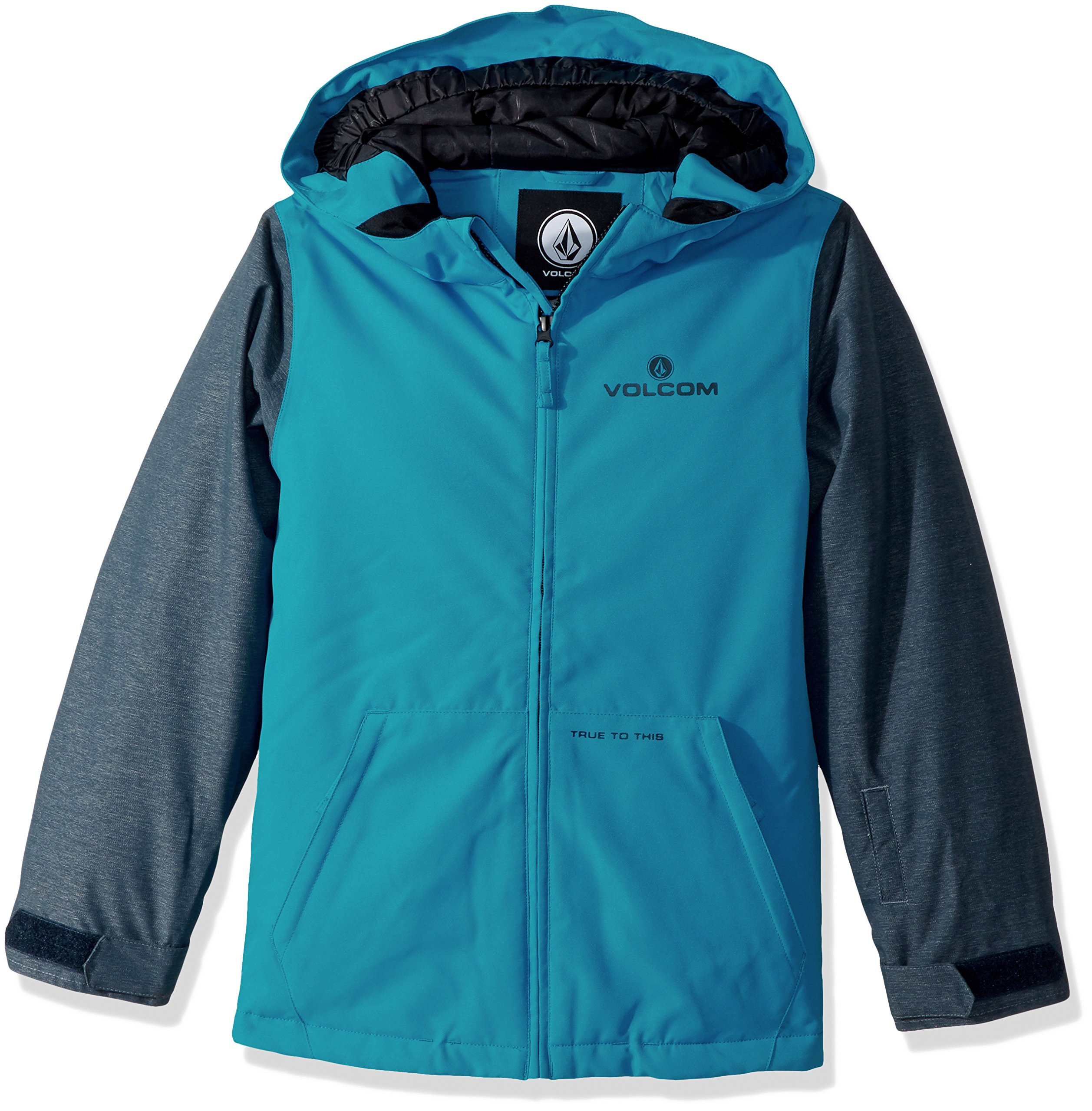 Volcom Big Boys' Selkirk Insulated Jacket, Blue, S by Volcom