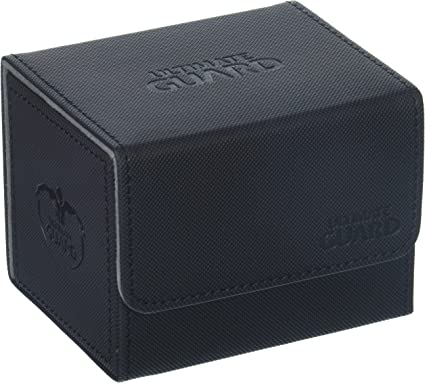Deck Case Side Loading Card Box PRO SAFE Black Sidewinder 100