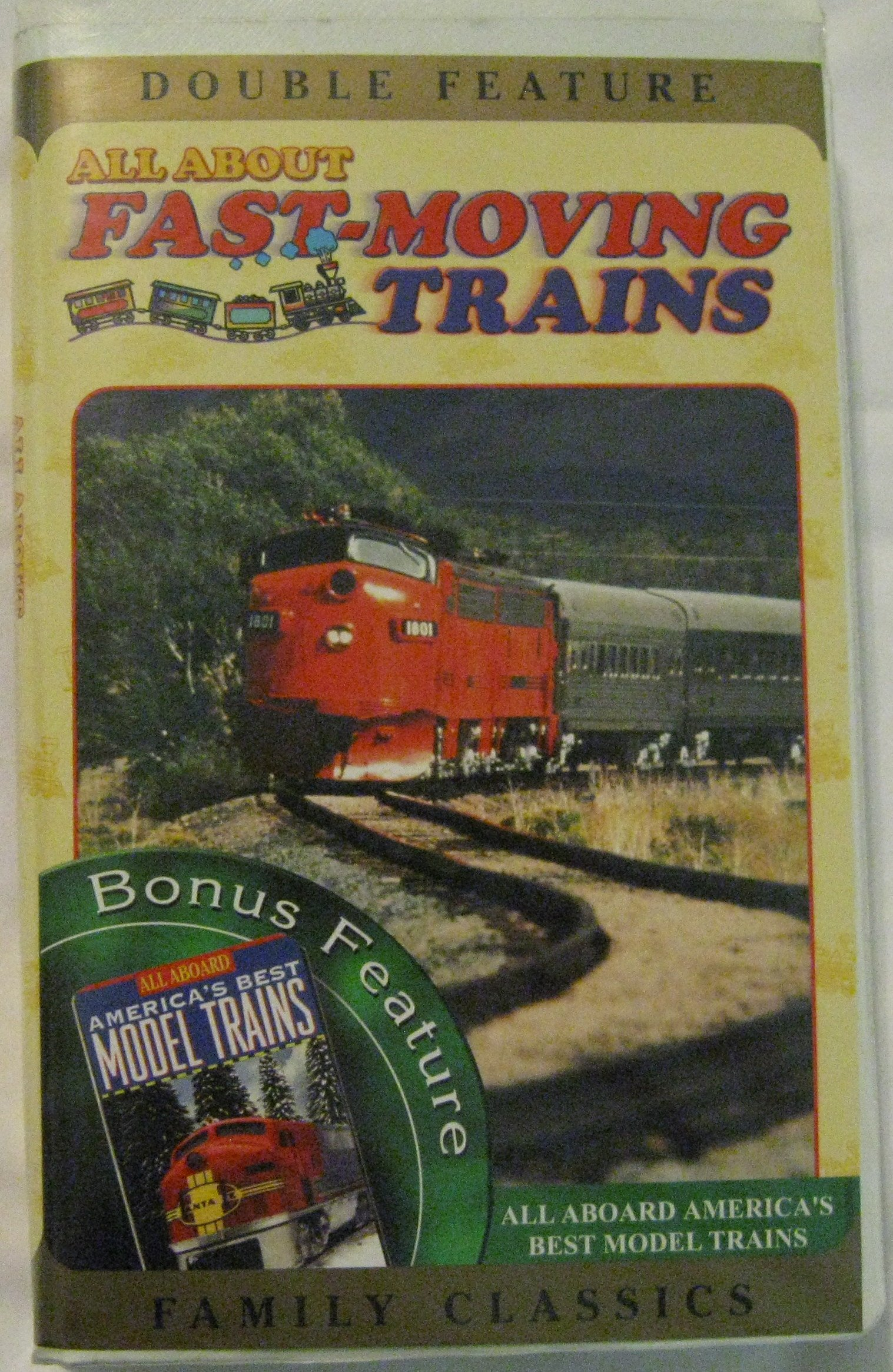 All About Fast Moving Trains & All Aboard [VHS]