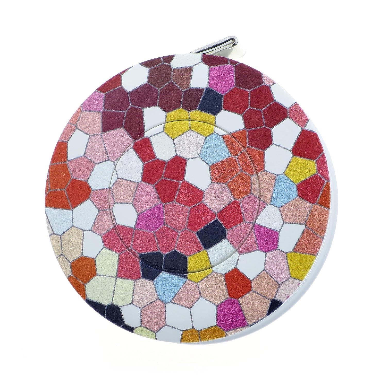 hoechstmass Balzer 80244D-MOSA Measuring Tape / 5 x 5 x 1.4 cm/Rollfix / 150 cm - 60 Inch/ABS Polyfibre/Multicoloured / Mosaic Style Hoechstmass Balzer GmbH