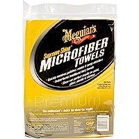 Meguiar's X2025 Supreme Shine Microfiber Towels, 6 pack