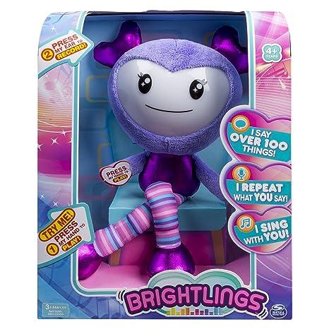 amazon com brightlings interactive singing talking 15 plush by rh amazon com Christmas Singing Dog Toy Singing Donkey Toy