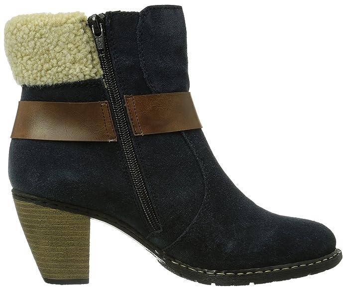 Rieker Z1550 14 Damen Halbschaft Stiefel