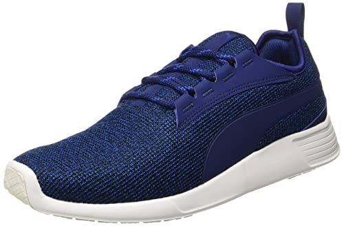 743c02a3807f45 Puma Men s ST Trainer Evo v2 Knit Lapis Blueblue Depths Running Shoes- 10  UK