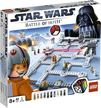 LEGO Juegos de Mesa - Star Wars: The Battle of Hoth (3866): Amazon ...