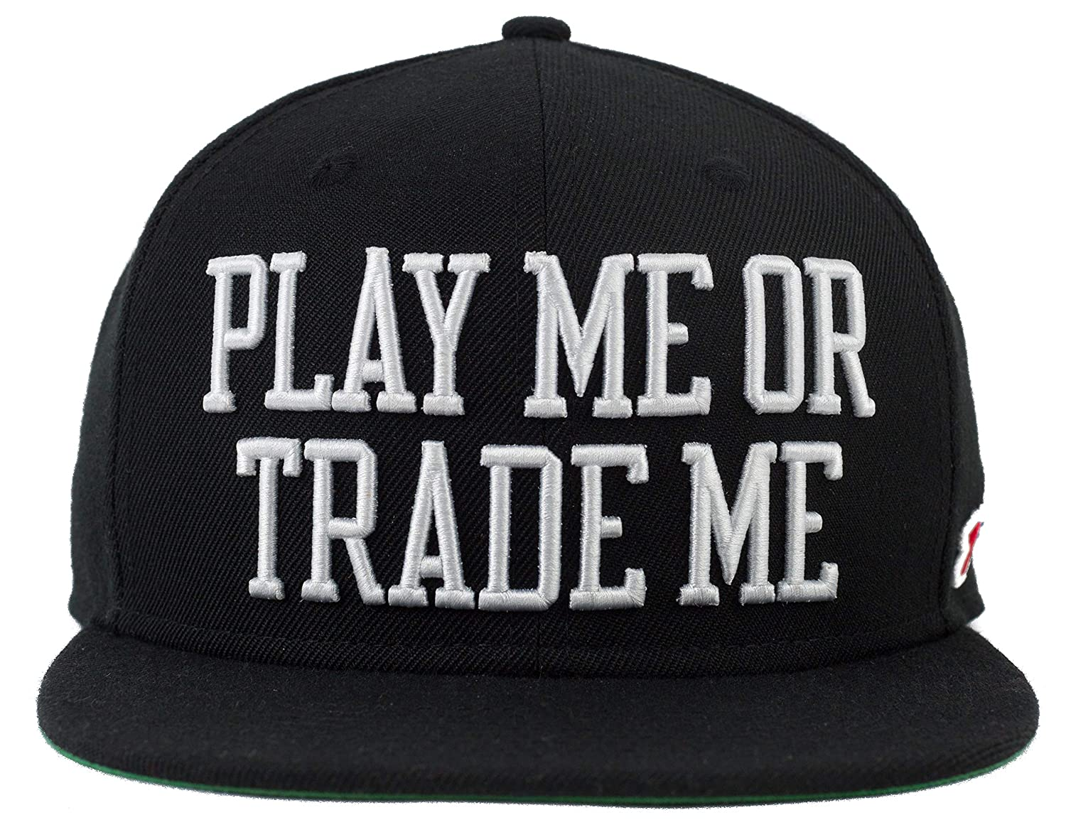FRDP Play Me or Trade Me Snapback Hat at Amazon Men s Clothing store  9d71abf02ba5