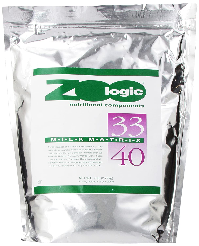 5 lb PetAg Multi Milk Replacer, 33 40, 5-Pound