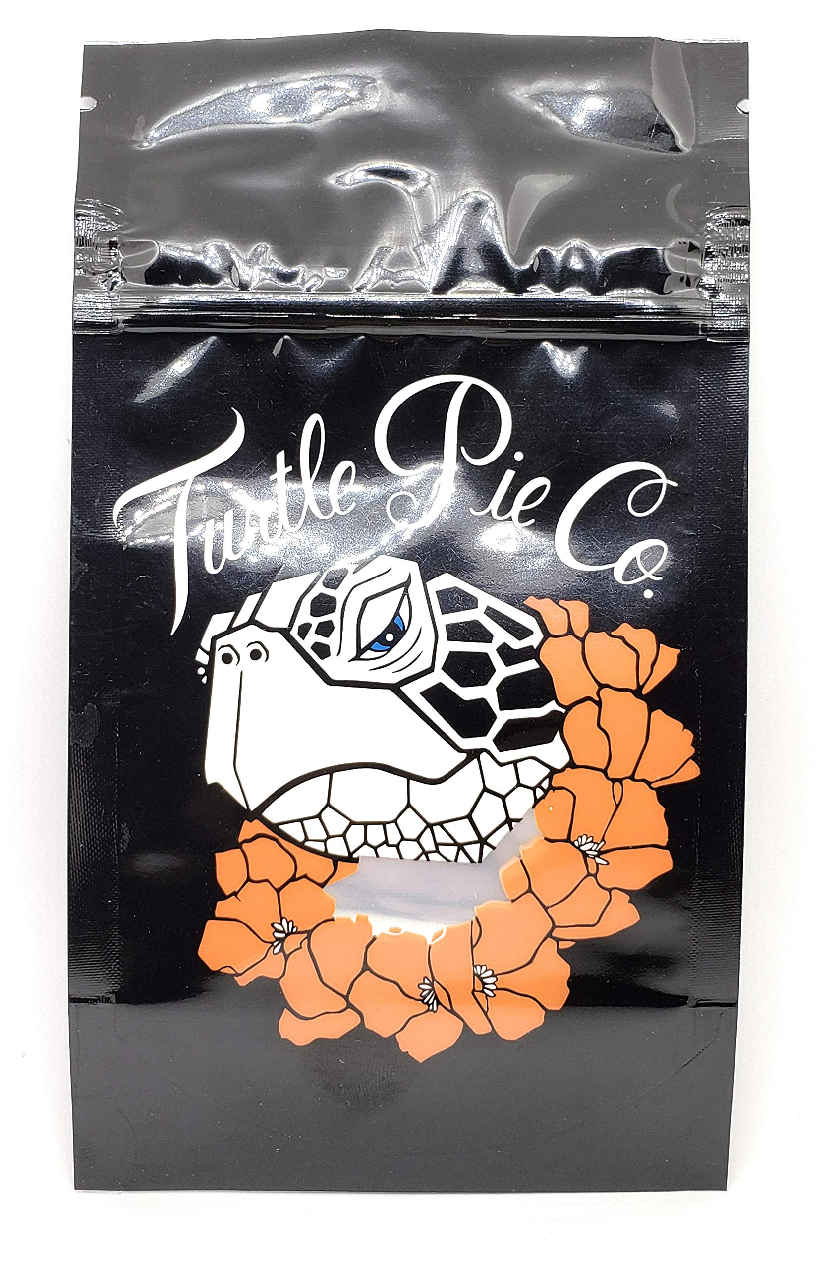 Turtle Pie 7g-14g Mylar Bags (Resealable, Reusable, Childproof) (50) by Cookie of SF