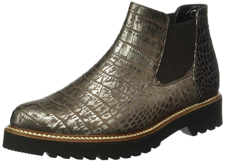 Gabor Shoes Comfort Sport, Botas Chelsea para Mujer38.5 EU|Dorado (Bronce S.s/C)