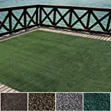 iCustomRug Indoor/Outdoor Turf Rugs and Runners Artificial Grass Many Custom Sizes and Widths Finished Edges with…