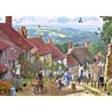 Gibsons Gold Hill Jigsaw Puzzle, 1000 piece