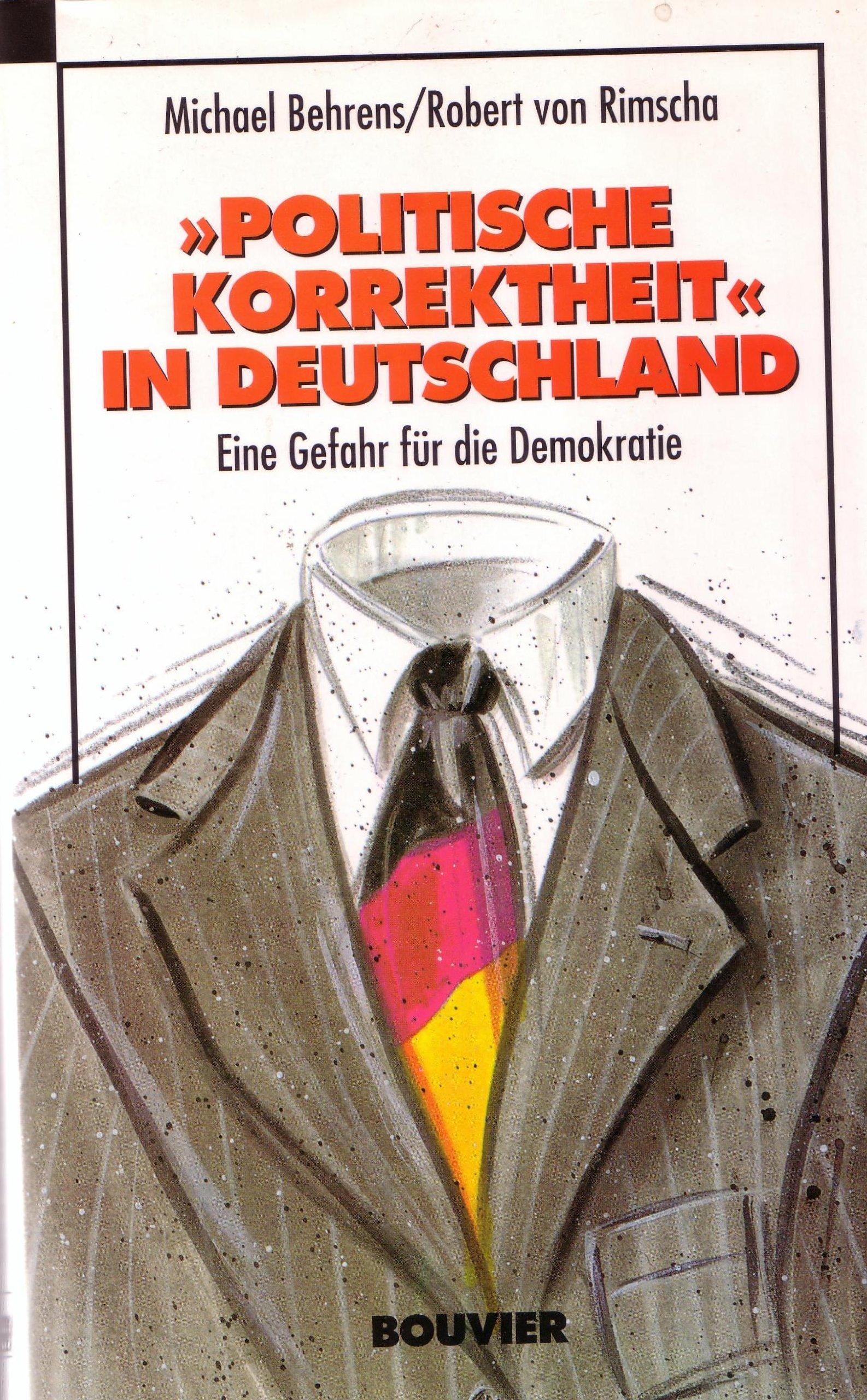 'Politische Korrektheit' in Deutschland