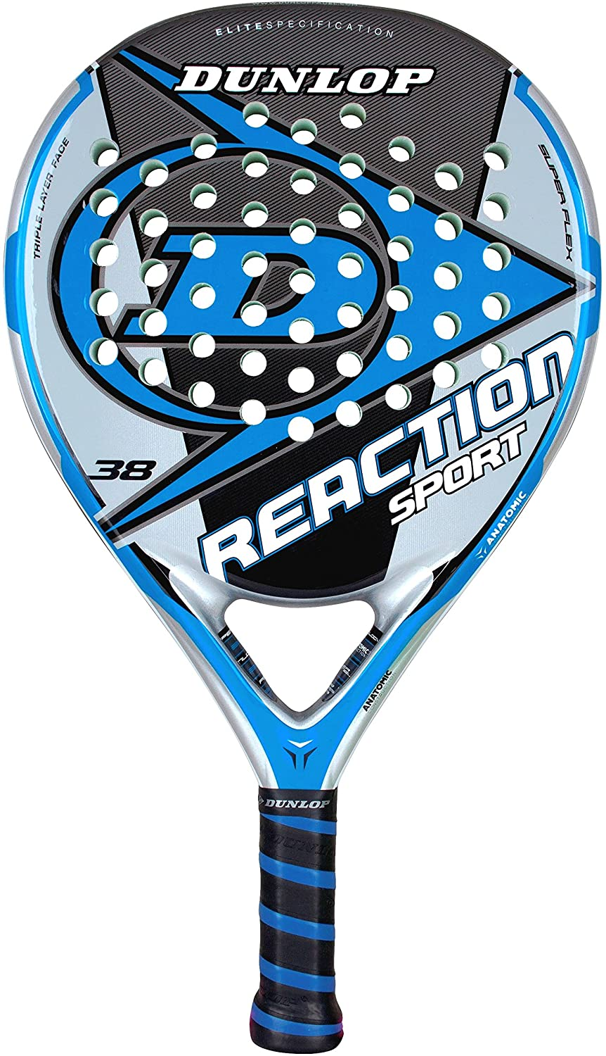 DUNLOP Reaction Sport - Pala de pádel: Amazon.es: Deportes y aire ...