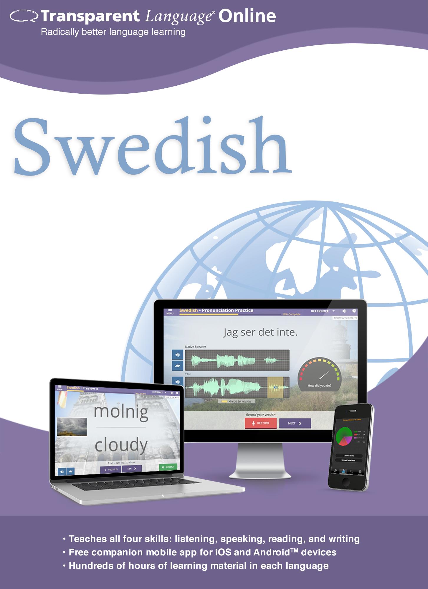 Transparent Language Online - Swedish - 12 Month Subscription for Mac [Online...