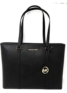 a30f7915ea99 Amazon.com  MICHAEL Michael Kors Voyager Medium Leather Tote (Acorn ...