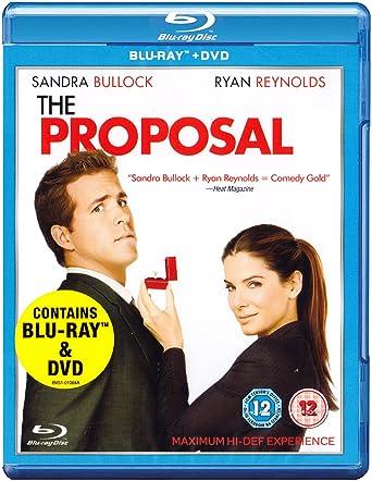 The Proposal Combi Pack Blu Ray Dvd Amazon Sandra