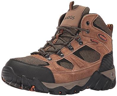 Nevados Men s MESA MID Hiking Boot Brown Orange Black 7 ... 115aa695958d