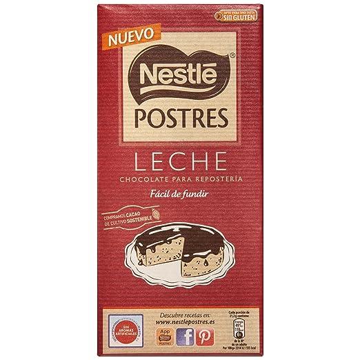 Nestlé POSTRES Chocolate con Leche para fundir - Tableta de chocolate para repostería 16x170g: Amazon.es: Alimentación y bebidas
