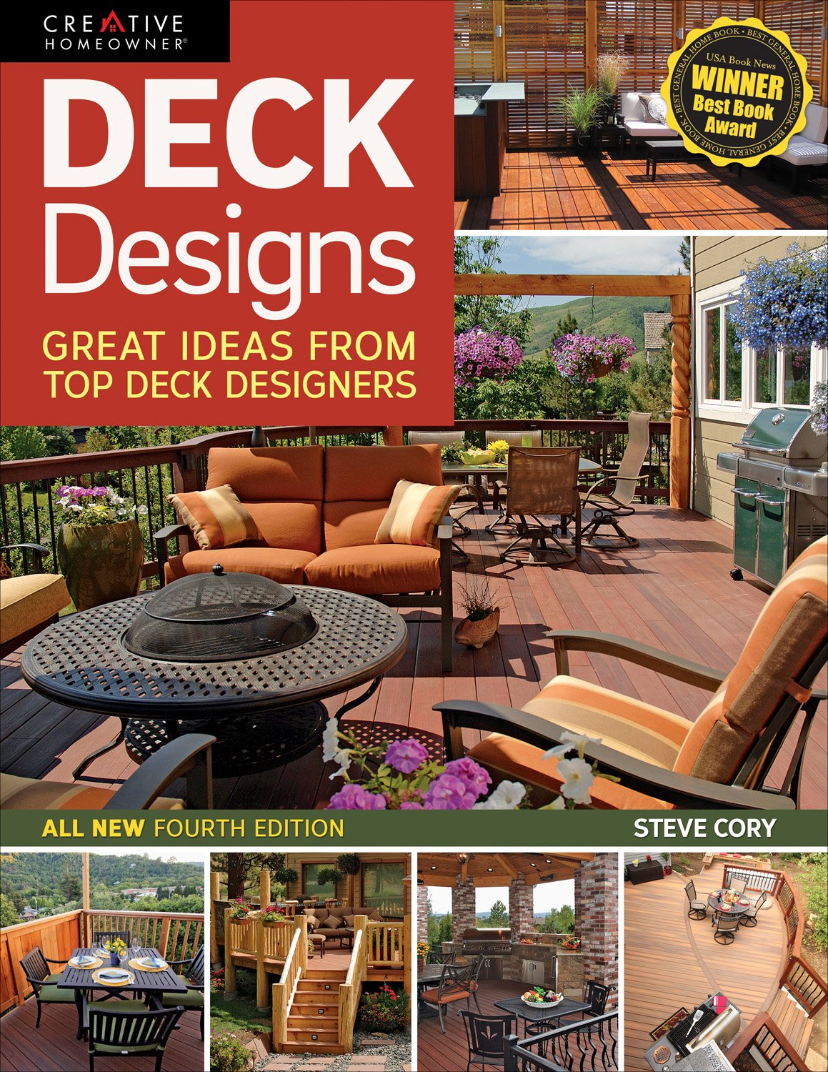 Deck Designs, 4th Edition: Great Design Ideas from Top Deck ...