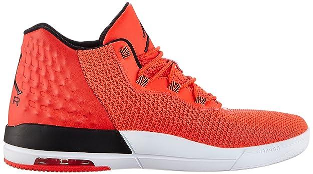 Amazon.com | Nike Air Jordan Academy Mens Hi Top Trainers 844515 Basketball Shoes (10, Infrared 23/White/Black) | Basketball