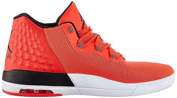 Amazon.com | Nike Air Jordan Academy Mens Hi Top Trainers 844515 Basketball Shoes (8.5, Infrared 23/White/Black) | Basketball
