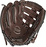 Sportime Genuine Leather Baseball Glove - Adult 13 inch - For Left Handed Thrower