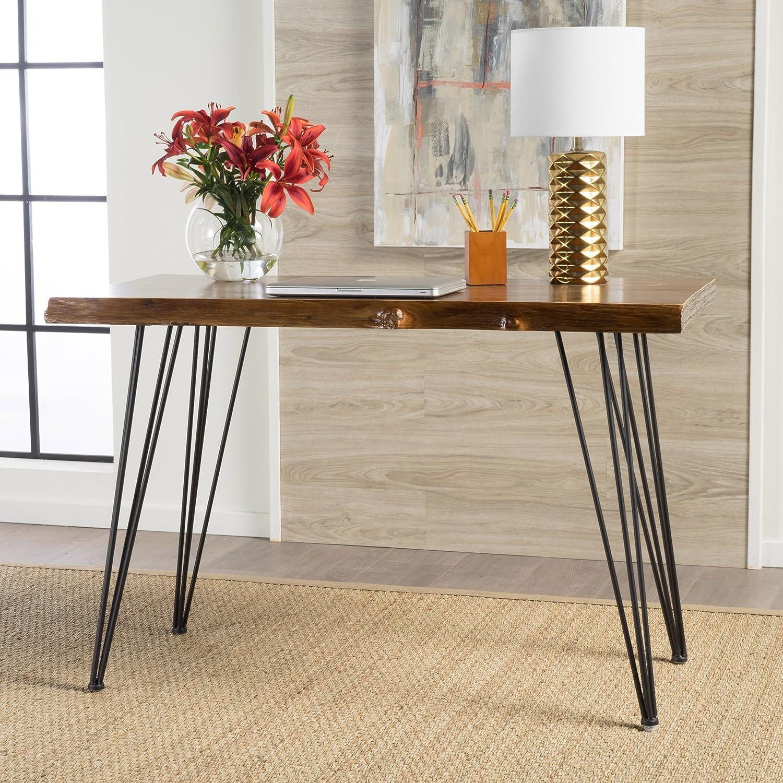 Christopher Knight Home 300535 Remington Natural Finish Firwood Faux Live Edge Desk