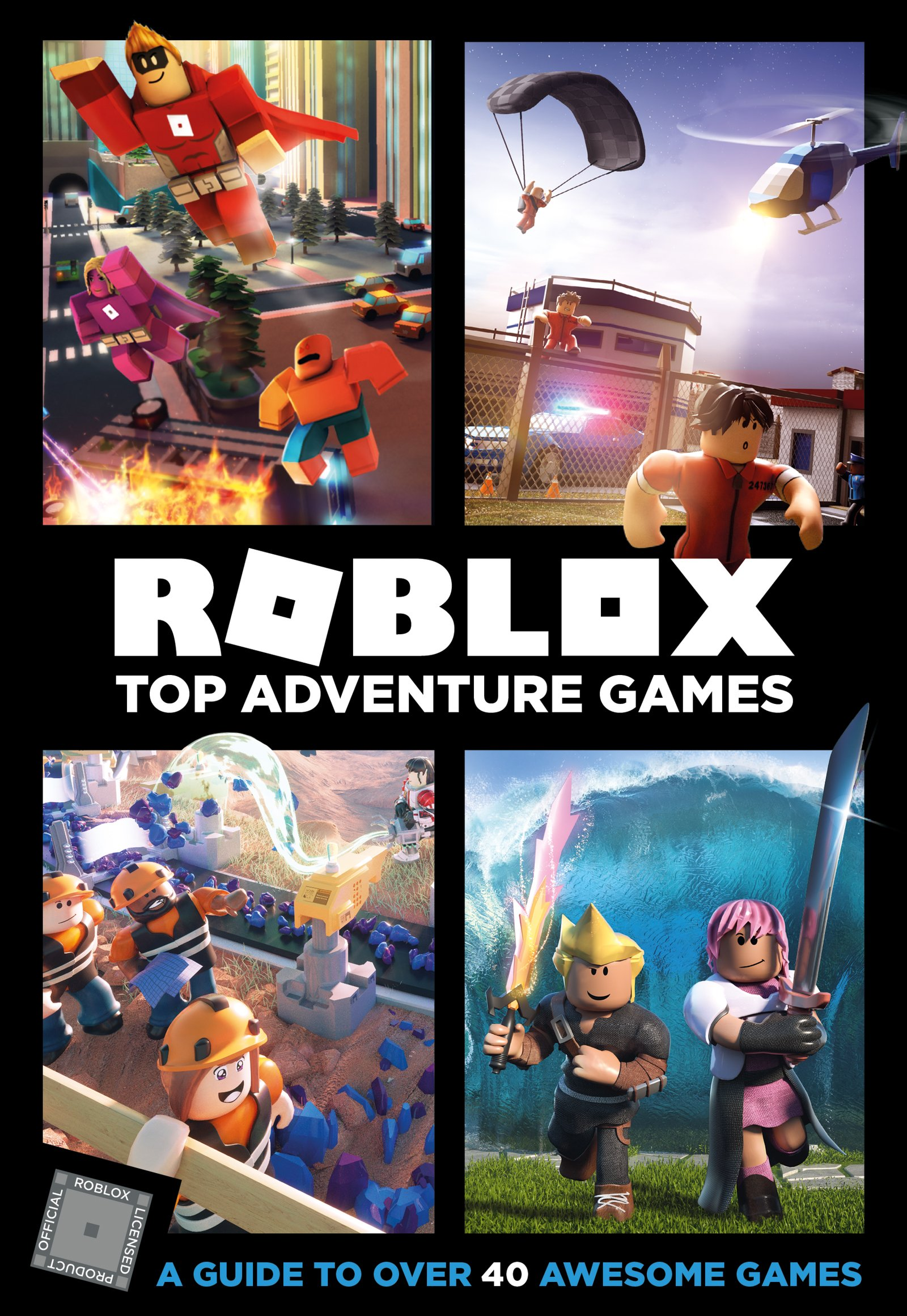 Roblox Top Adventure Games Official Roblox 9780062862662 - roblox best selling game