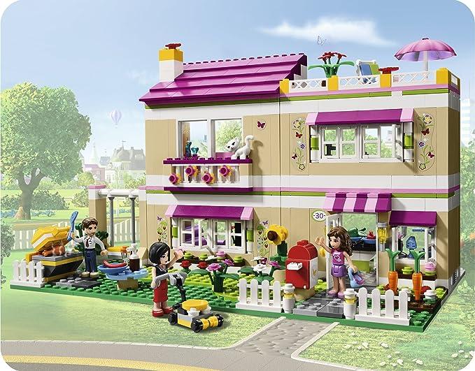 Lego Friends La Casa De Olivia 3315 Amazon Es Juguetes Y Juegos