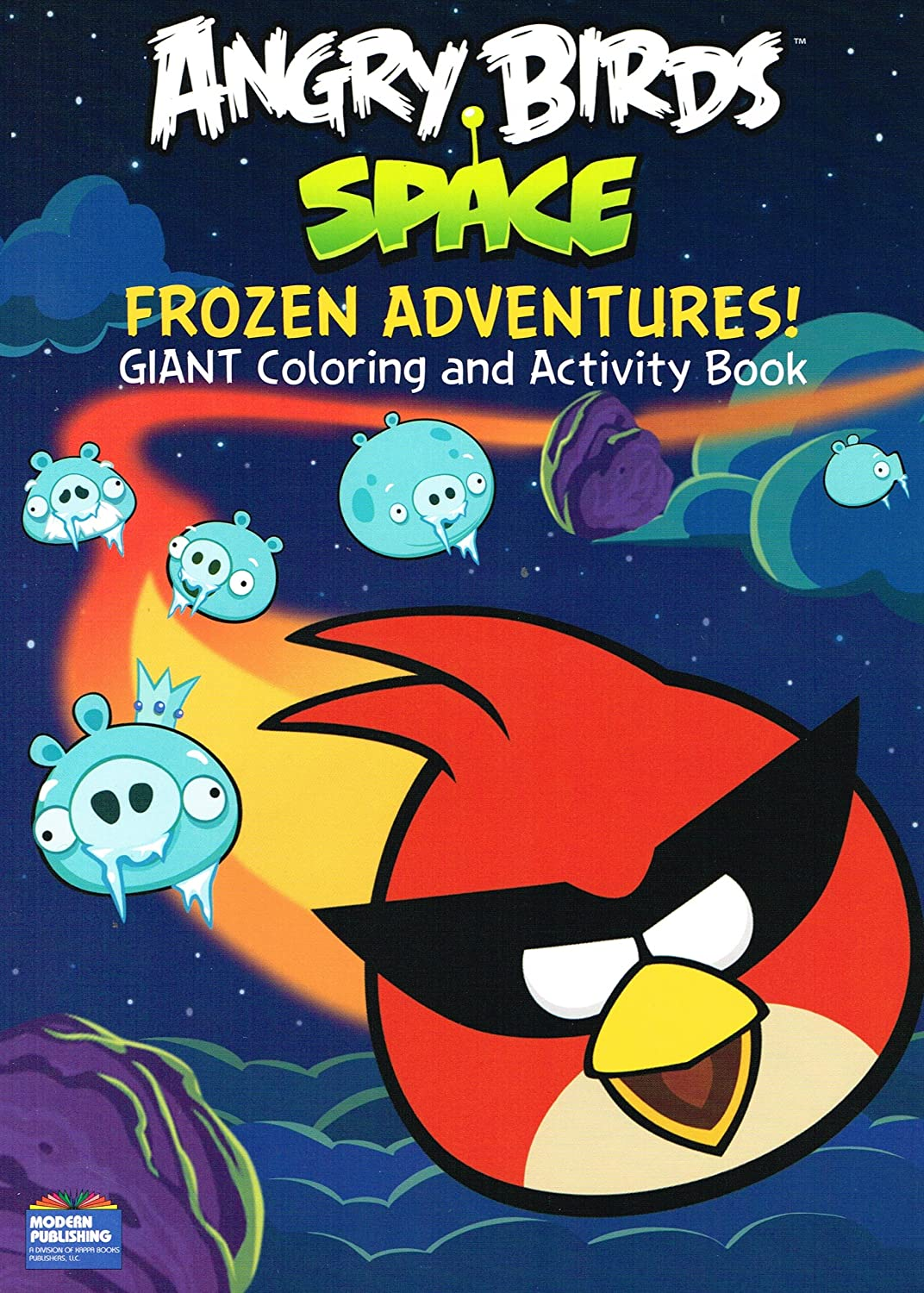 Buy Angry Birds Space Coloring And Activity Book Set Of 2