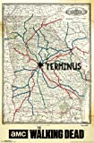 """Trends International The Walking Dead Terminus Map Wall Poster 22.375"""" x 34"""""""
