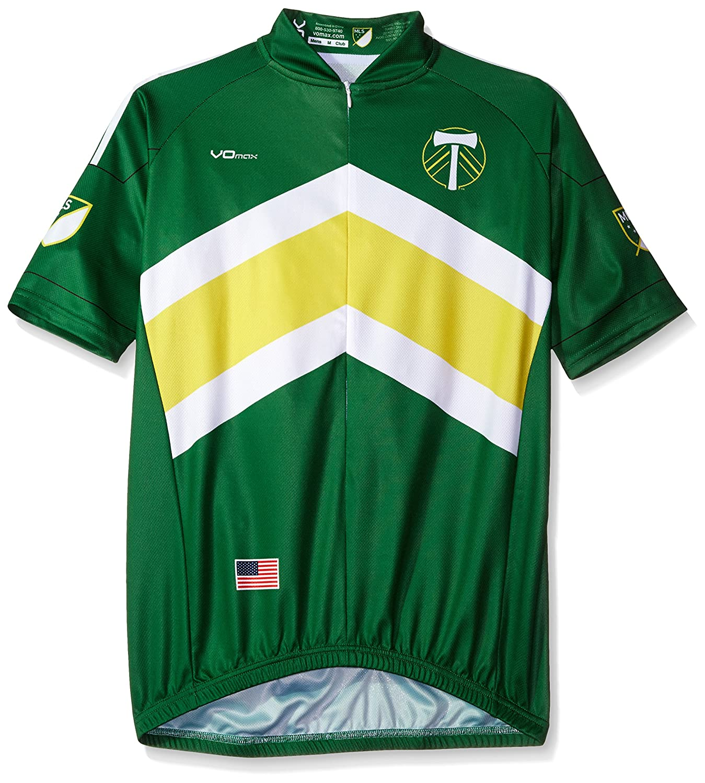 MLS Men 's Primary半袖サイクリングジャージー B017NPYY7O X-Large|グリーン|Portland Timbers グリーン X-Large