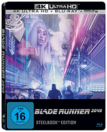 Amazon Com Blade Runner 2049 Import Limited 4k Ultra Hd Steelbook