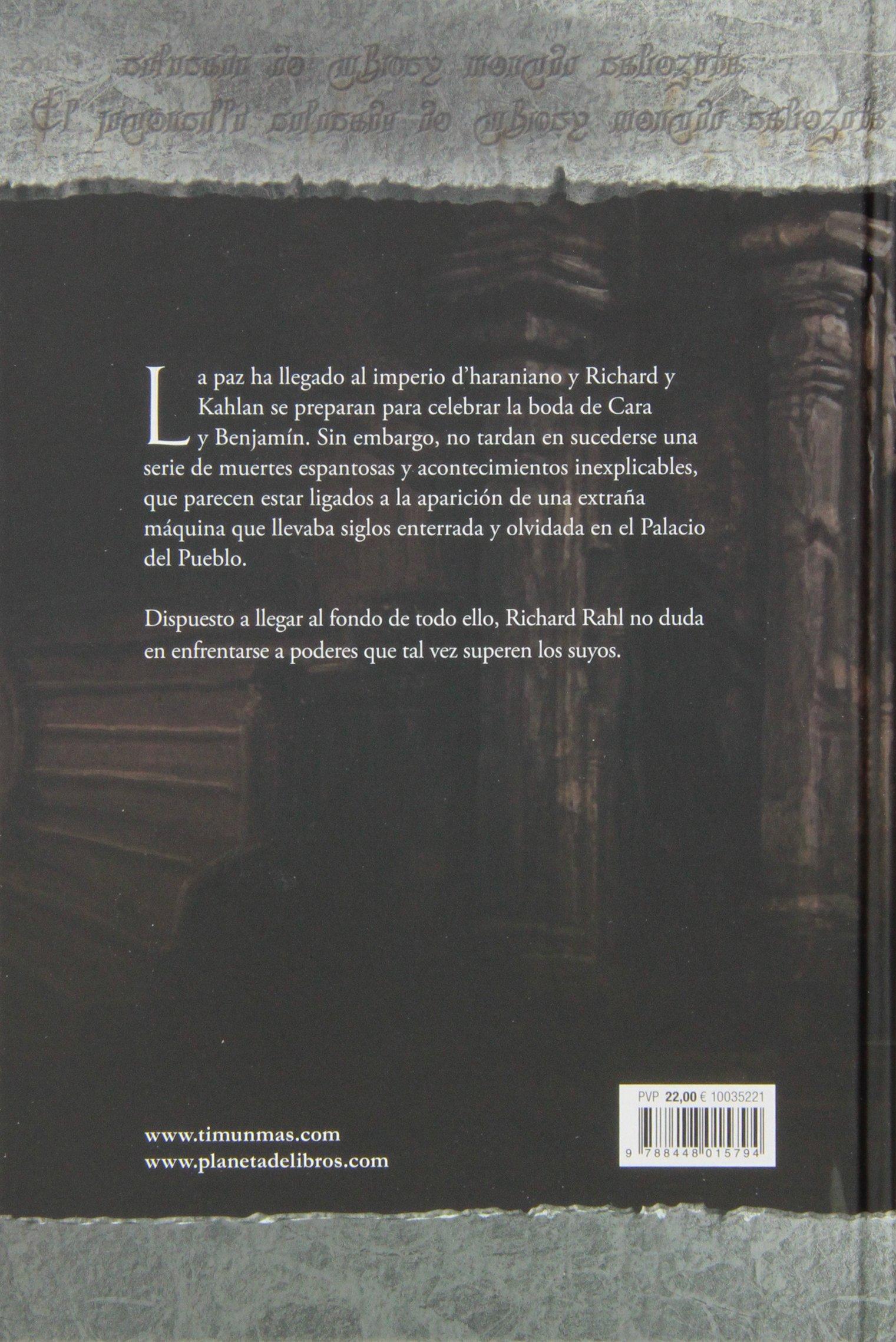 La máquina de los presagios: Volumen 23 Fantasía Épica: Amazon.es: Terry Goodkind, Gemma Gallart Álvarez: Libros